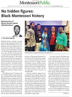 Hidden Figures No More: Black Montessori History